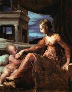 PARMIGIANINO Virgin and Child oil painting reproduction