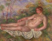 Renoir Reclining Woman Bather