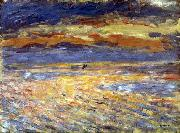 Pierre-Auguste Renoir Sunset at Sea oil painting reproduction