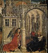 Robert Campin Annunciation oil painting reproduction
