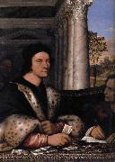Sebastiano del Piombo Retrato de Ferry Carondelet con sus secretarios oil painting reproduction