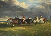 The 1821 Derby at Epsom