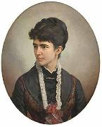 Victor Meirelles Portrait of a woman oil painting reproduction