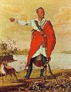 Oil portrait of Joseph Brant