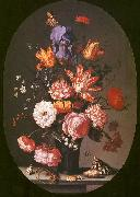 AST, Balthasar van der Flowers in a Glass Vase oil painting picture wholesale