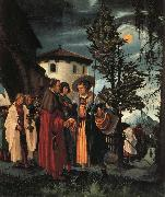 Albrecht Altdorfer The Departure of St.Florian oil painting reproduction