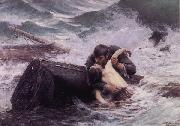 Alfred Guillou Adieu oil painting reproduction