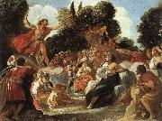 Anastagio Fontebuoni St.john the Baptist Preaching oil painting picture wholesale