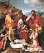 Andrea del Sarto Pieta with Saints oil painting reproduction