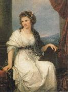 Angelica Kauffmann Self-Portrait oil painting reproduction