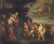 Anthony Van Dyck The Rest on the Flight into Egypt oil painting reproduction