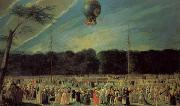 The  Ascent of a Montgolfier Balloon