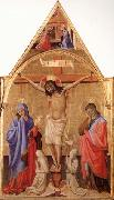 Antonio Fiorentino Crucifixion with Madonna and St.John oil painting reproduction