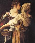 Artemisia gentileschi Judith and Her Maidser oil painting reproduction