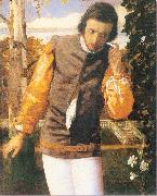 Arthur Devis Benedick in the Arbor oil painting picture wholesale