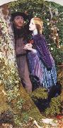 Arthur Hughes The Long Engagement oil painting reproduction