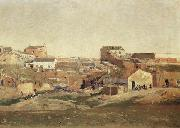 Aureliano De Beruete Y Moret The Outskirts of Madrid oil painting
