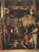 BARTOLOMEO, Fra The Mystic Marriage of St.Catherine oil painting reproduction