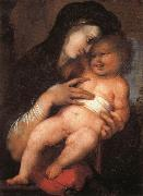 BERRUGUETE, Alonso Madonna and Child oil painting reproduction