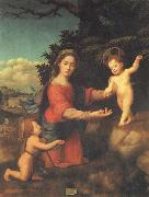 BUGIARDINI, Giuliano Madonna and Child with hte Young St.john t he Baptist oil painting