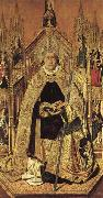 Bartolome Bermejo St.Dominic of Silos oil painting