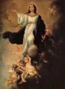 Bartolome Esteban Murillo The Assumption of the Virgin