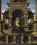 Bernard van orley The Virgin of Louvain oil painting