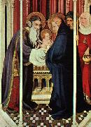 Broederlam, Melchoir The Presentation in the Temple oil painting