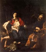 CARACCIOLO, Giovanni Battista The Rest on the Flight into Egypt oil painting reproduction