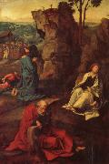 COECKE VAN AELST, Pieter The Agony in the Garden oil painting reproduction