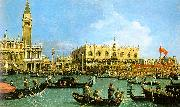 Canaletto The Basin of San Marco on Ascension Day oil painting picture wholesale