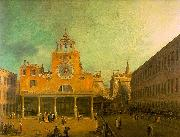 Canaletto San Giacomo di Rialto oil painting picture wholesale