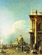 Canaletto Entrance to the Grand Canal from the Piazzetta