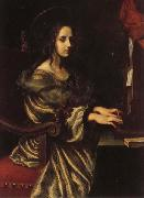 Carlo Dolci St.Cecilia oil painting reproduction