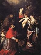 Cerano Madonna and Child with SS.Francis,Charles,and Catherine of Alexandria oil painting