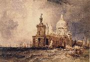 Clarkson Frederick Stanfield Venice:The Dogana and the Salute oil painting