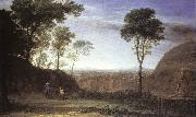Claude Lorrain Landscape with Noli Me Tangere Scene oil painting reproduction