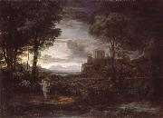 Claude Lorrain Night oil painting reproduction
