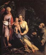 Correggio The Rest on the Flight into Egypt oil painting reproduction