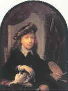 DOU, Gerrit Self-Portrait oil painting reproduction