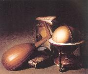 DOU, Gerrit Still Life with Globe, Lute, and Books oil painting picture wholesale