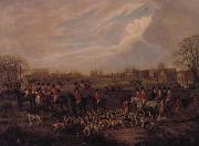 Dean Wolstenholme The Essex Hunt,1831 A set of Four Paintings oil painting