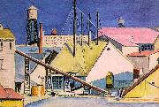 Dickinson, Preston Factories oil painting