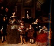 Diego Velazquez The Family of the Artist (df01) oil painting reproduction