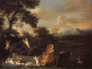 Domenichino The Repose of Venus oil painting reproduction