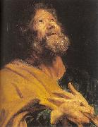 Dyck, Anthony van The Penitent Apostle Peter oil painting