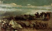 Eduardo Rosales Gallinas Episode from the Battle of Tetudn oil painting