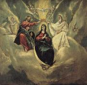 El Greco The Coronation of the Virgin oil painting picture wholesale