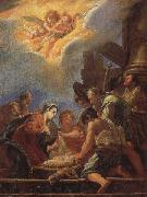 FETI, Domenico Adoration of the Shepherds oil painting reproduction