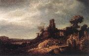FLINCK, Govert Teunisz. Landscape oil painting reproduction